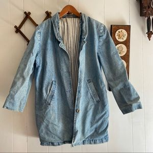 1980's Oversized Denim Jacket